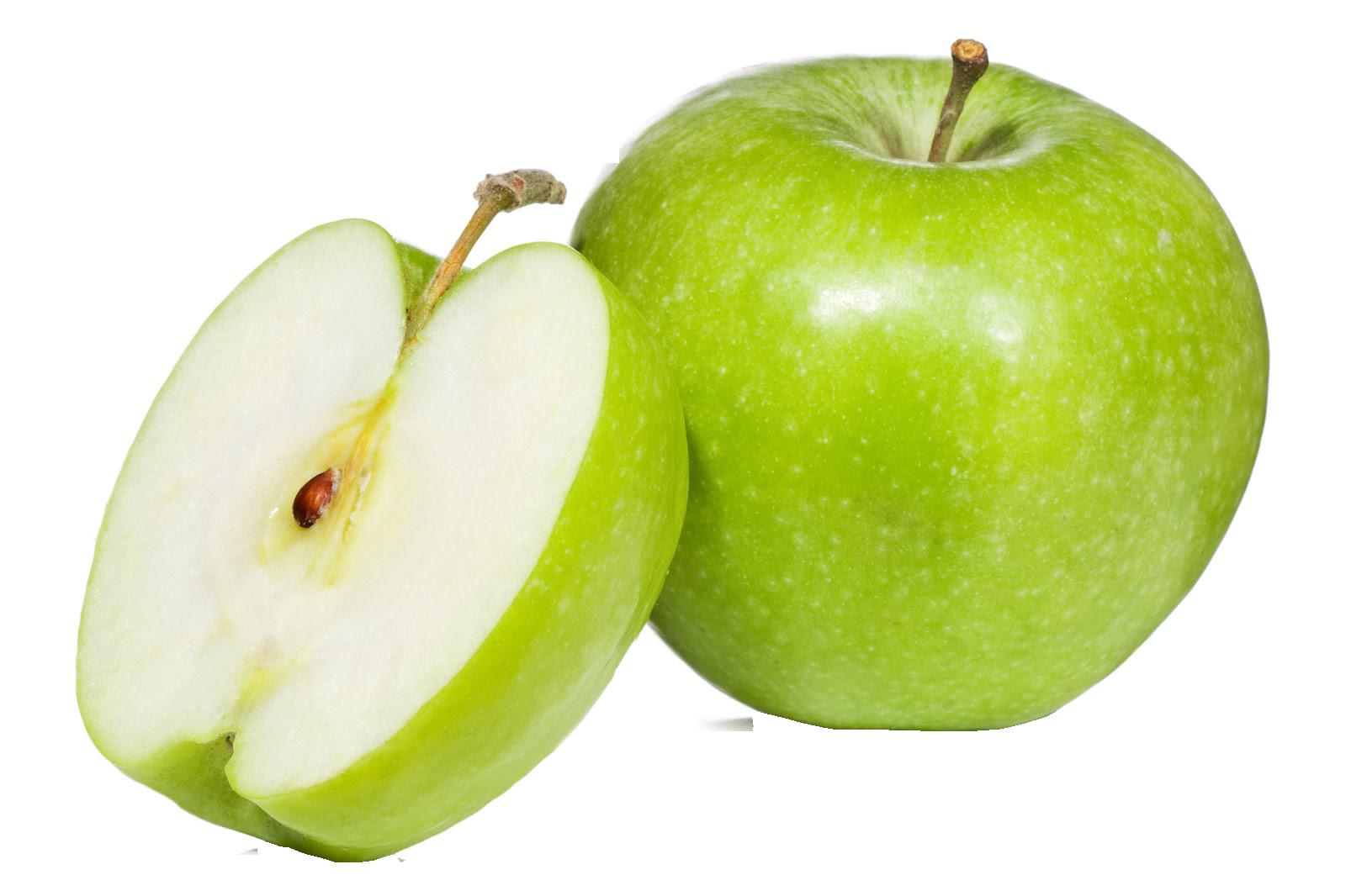 Зеленое яблоко PNG