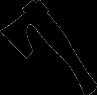 Топор PNG