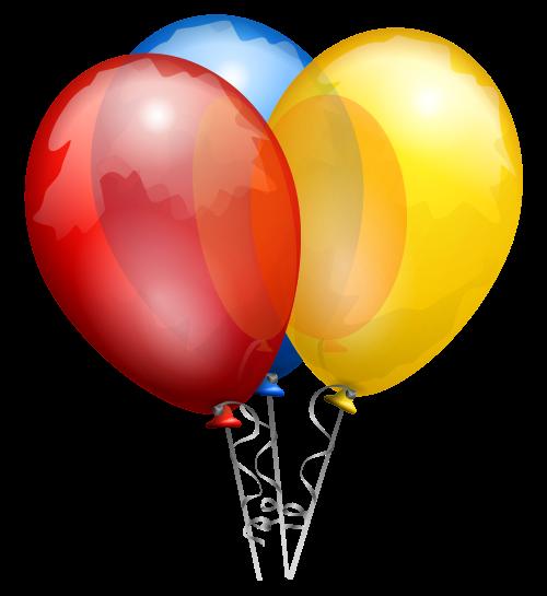 Воздушные шарики PNG фото