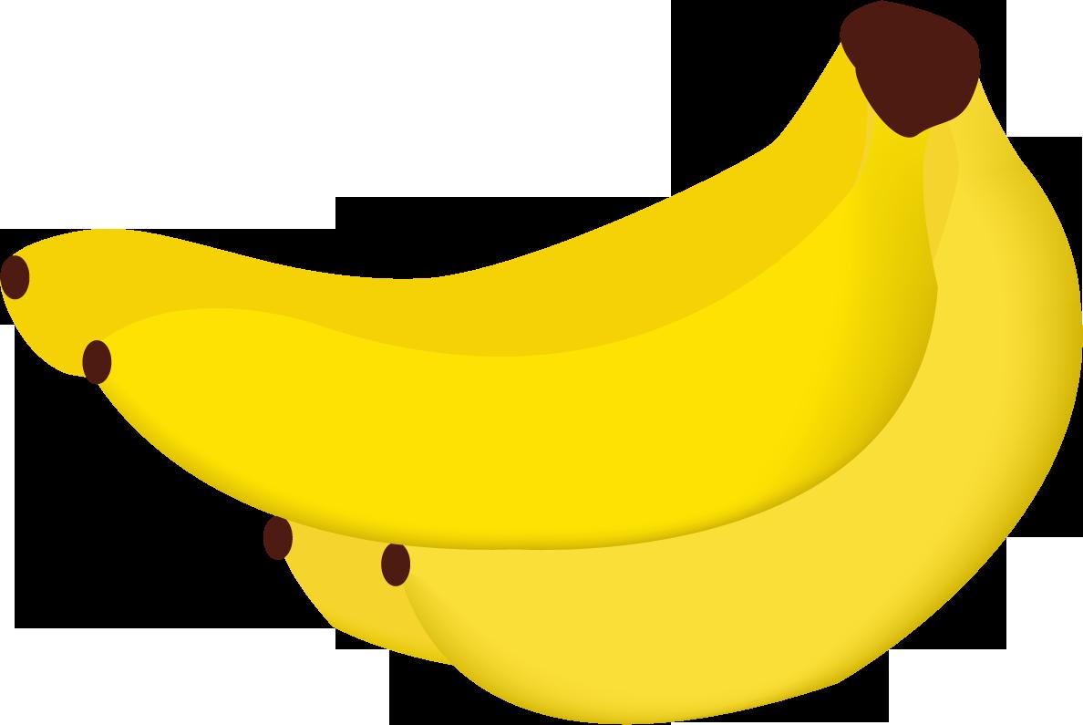 yellow bananas PNG image