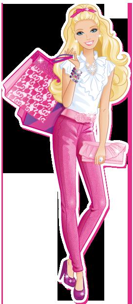 Барби PNG