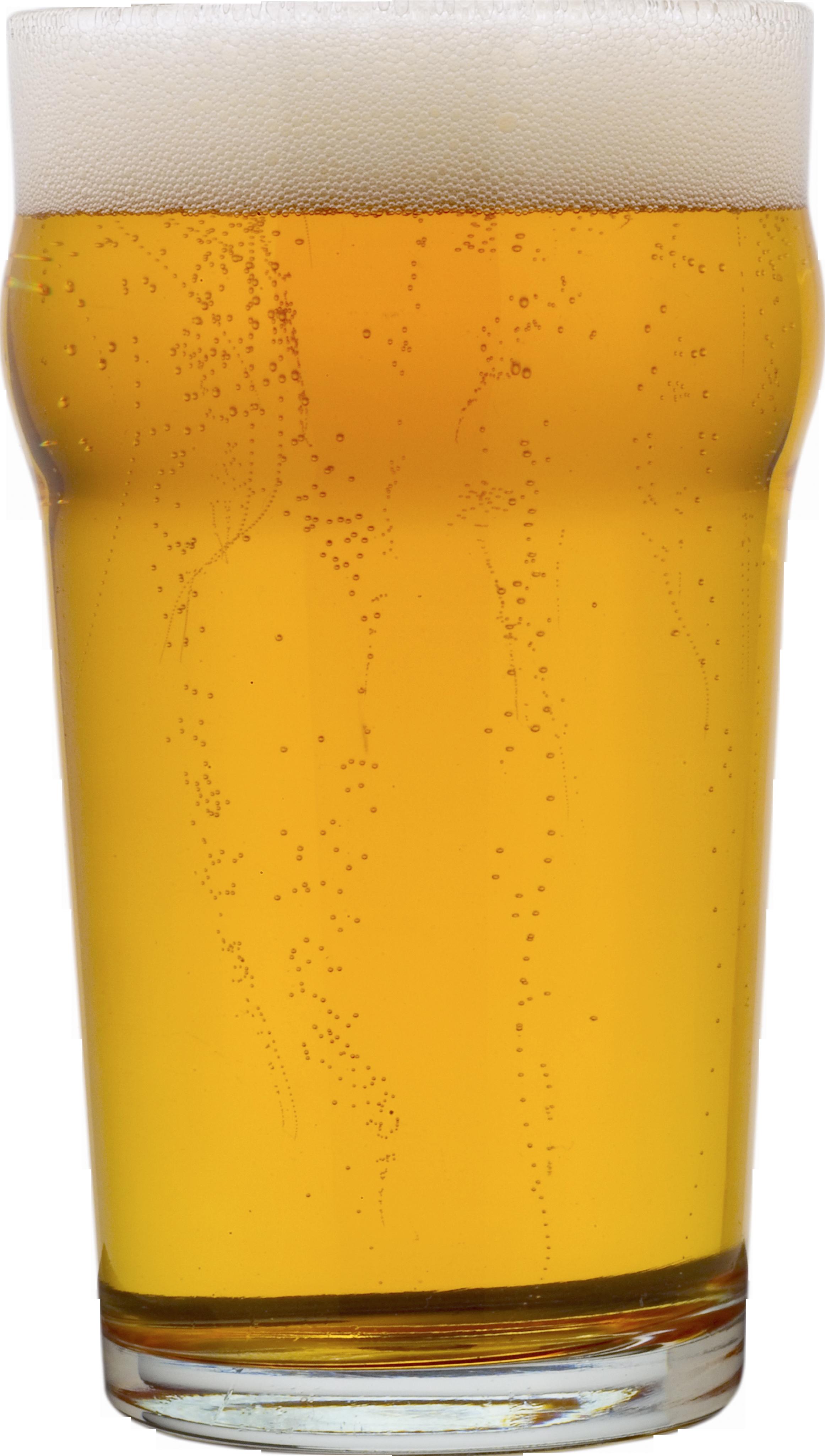 Пиво в стакане PNG фото