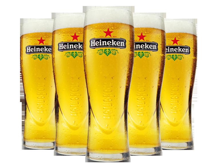 Пиво в стаканах PNG фото