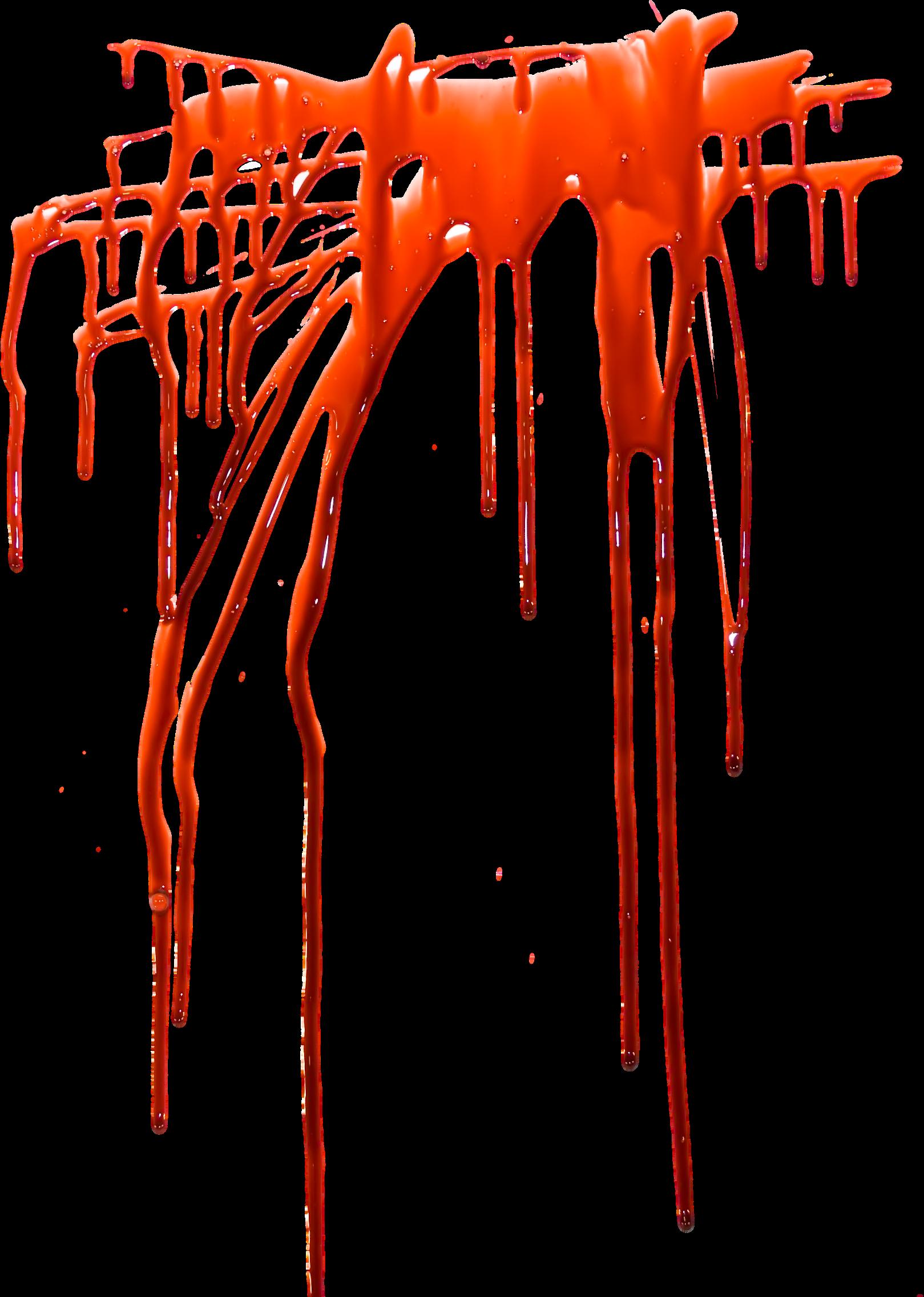 Blood splashes PNG image