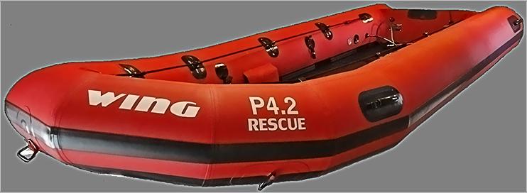 Надувная лодка PNG