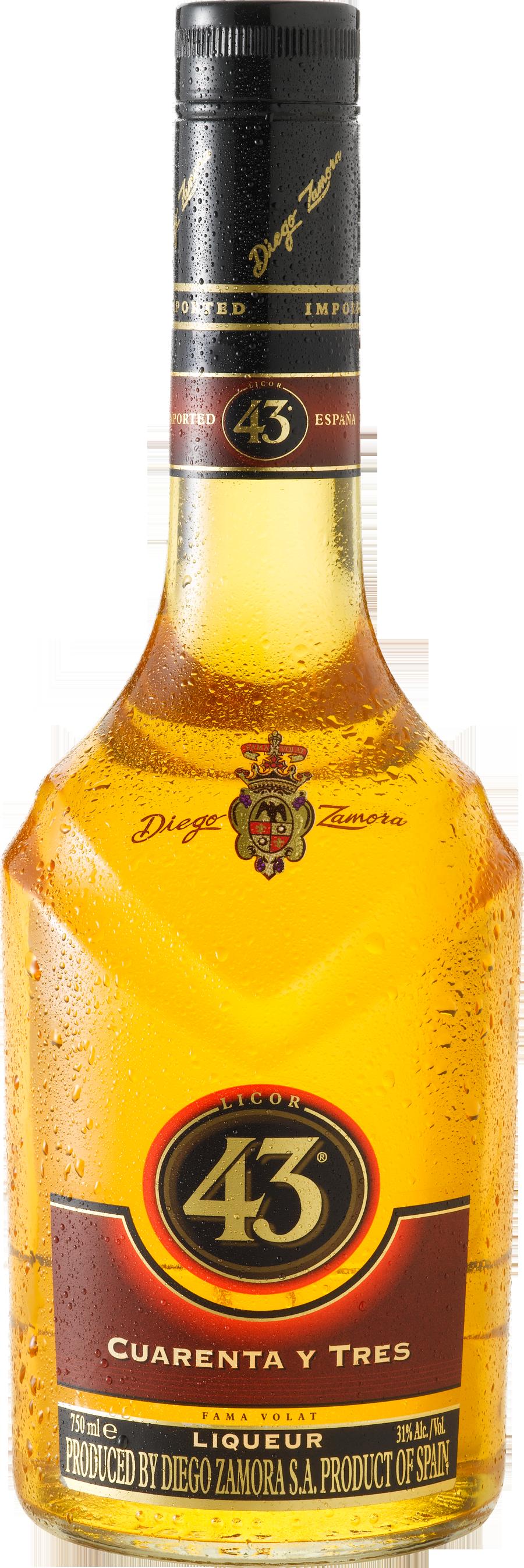 Бутылка ликера PNG фото