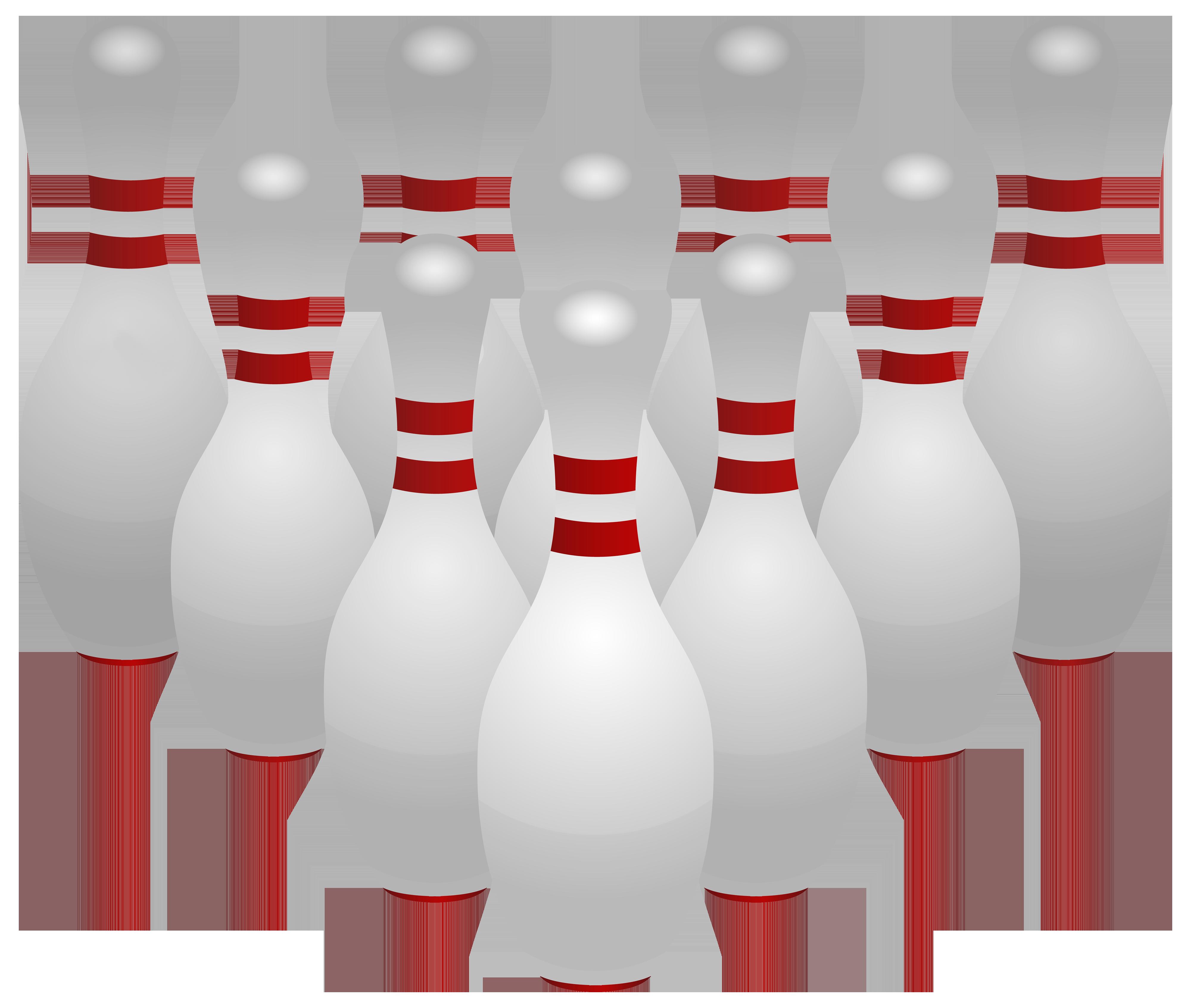 Bowling pins PNG