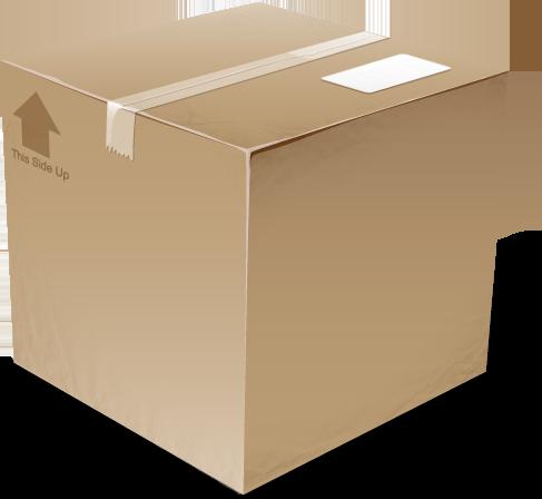 cardboard box png. Black Bedroom Furniture Sets. Home Design Ideas
