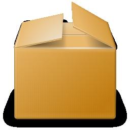 Коробка картонная PNG