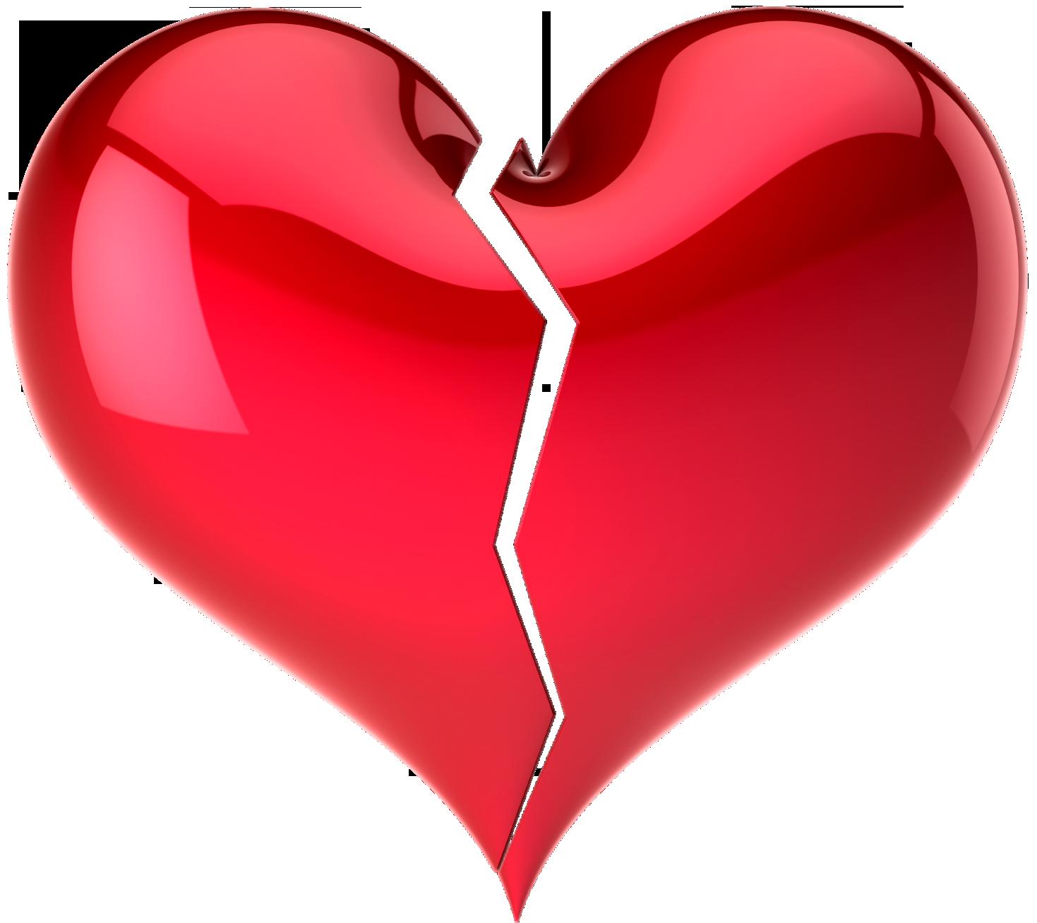 Разбитое сердце PNG