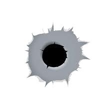 Дырки от пули PNG фото