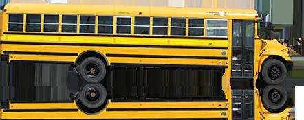 Школьный автобус PNG фото