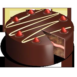 Торт день рождения PNG