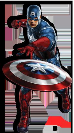 Капитан Америка PNG