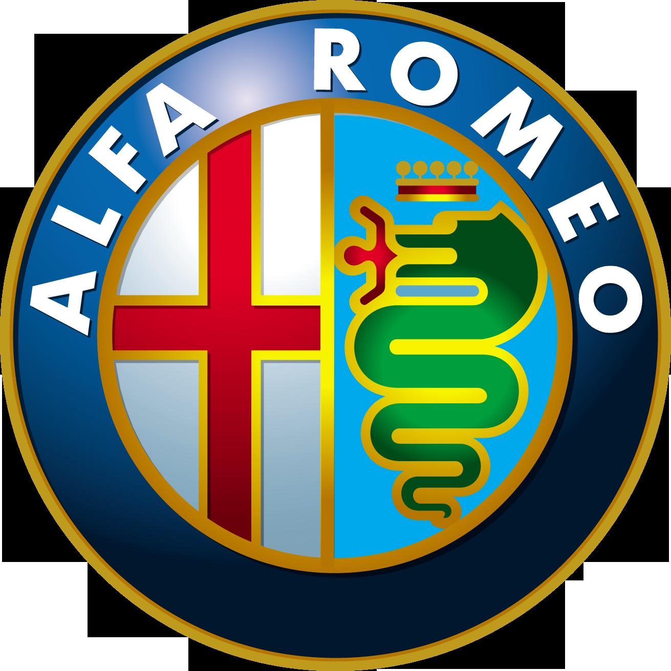 Альфа Ромео PNG логотип, Alfa Romeo car logo PNG
