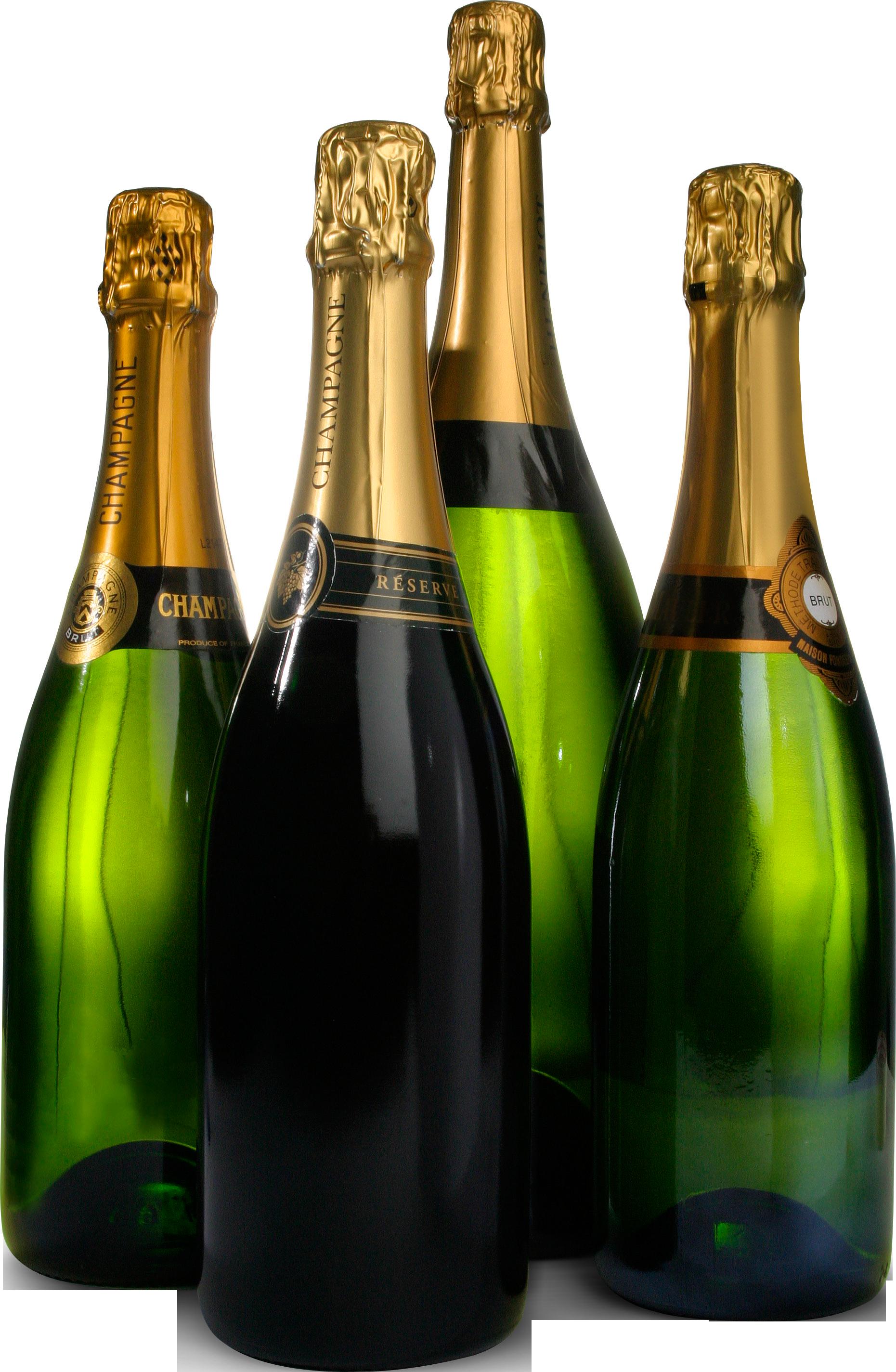 Шампанское бутылки PNG