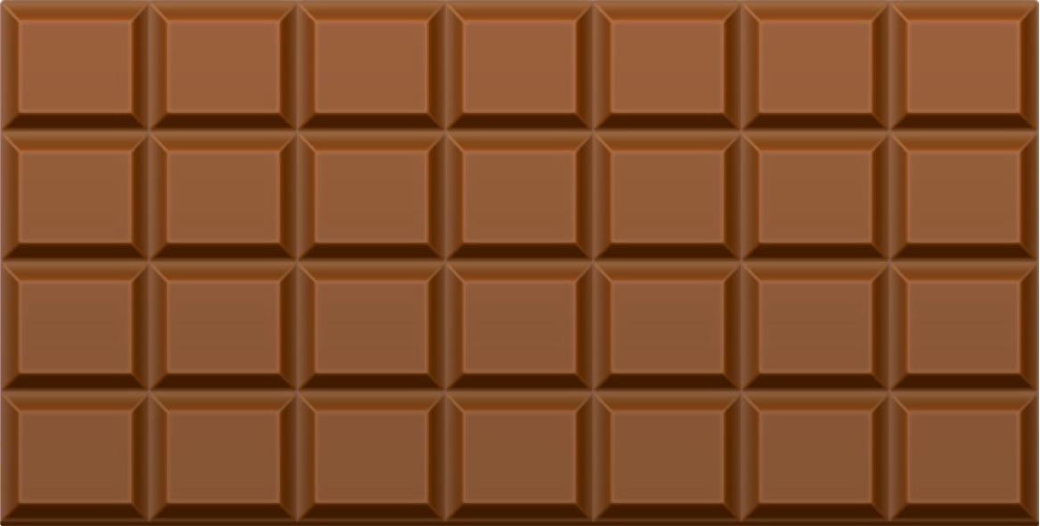 Шоколад плитка PNG фото