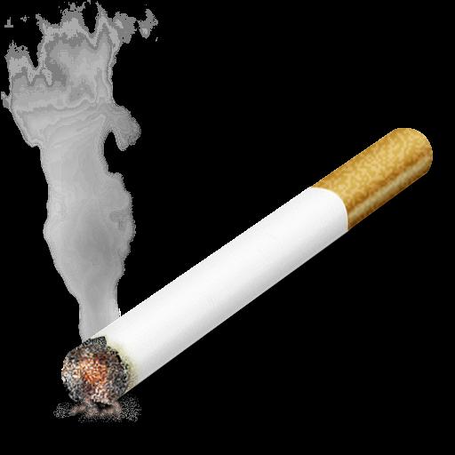 Дымящая сигарета PNG фото скачать