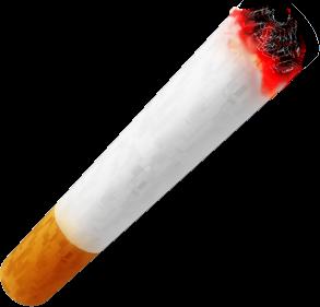 Тлеющая сигарета PNG фото скачать