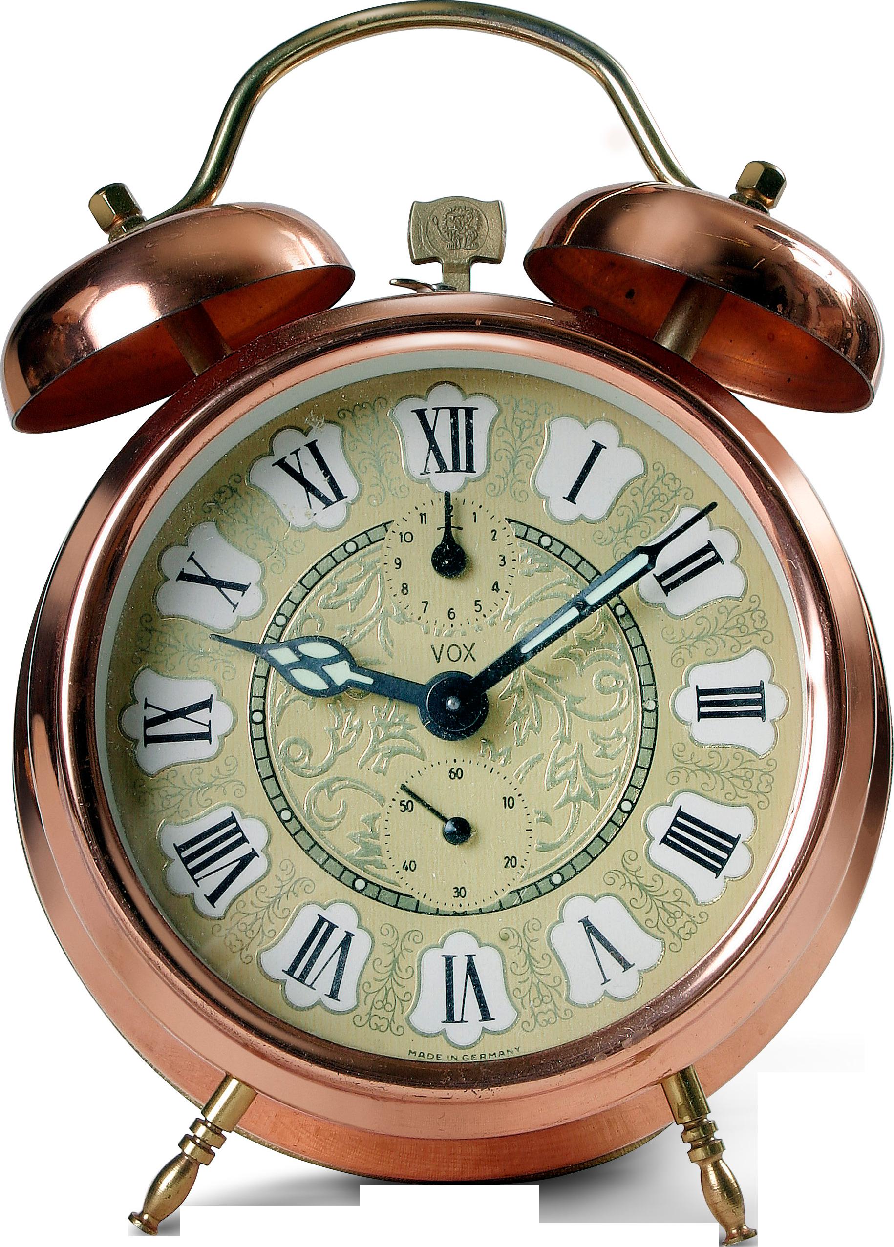 Часы будильник PNG фото