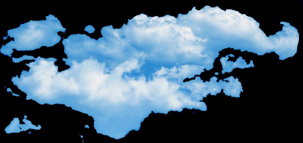 Облако PNG фото
