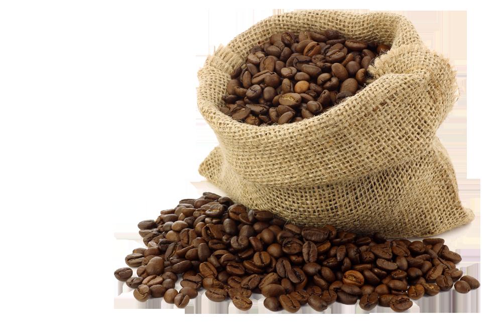 Кофейные зерна PNG фото
