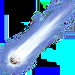 Комета PNG