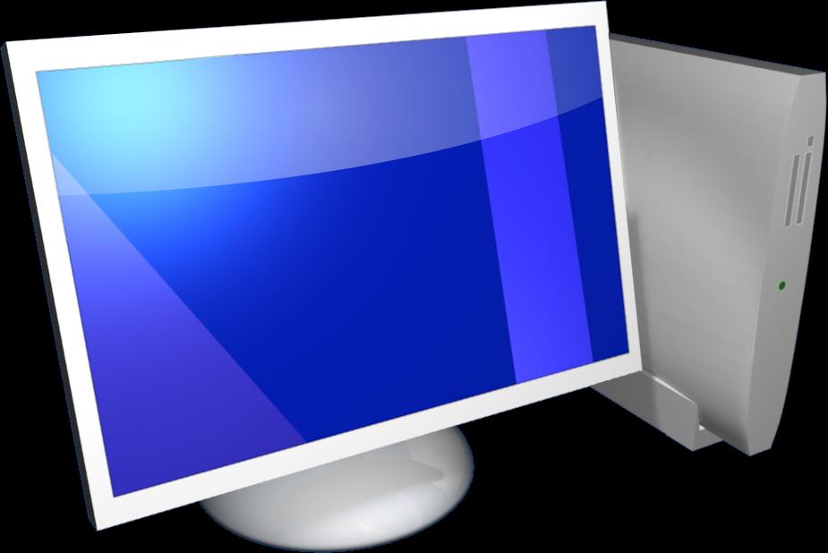 Computer desktop PC PNG image