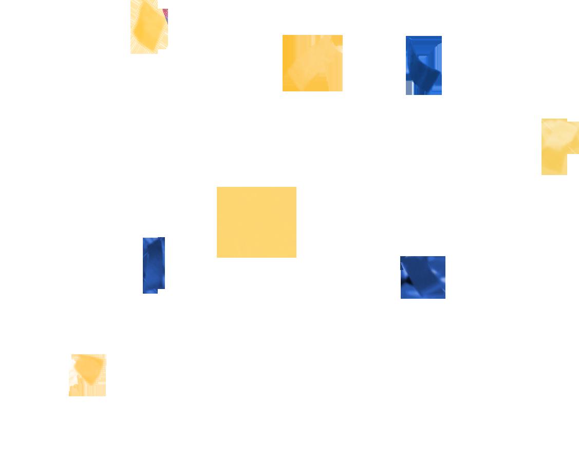 Конфетти PNG