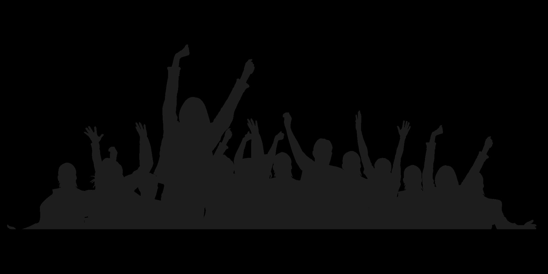 Толпа людей PNG