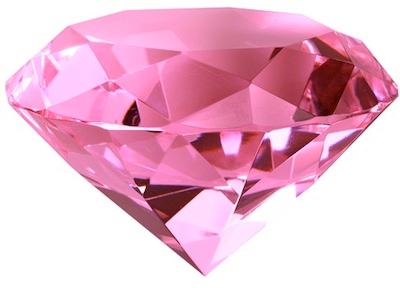 Розовый алмаз PNG фото