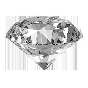 Белый алмаз PNG фото