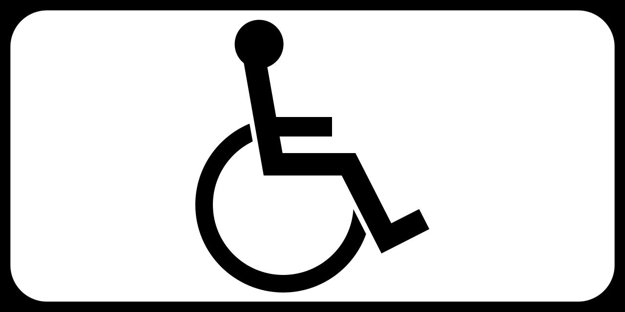 Инвалид знак PNG