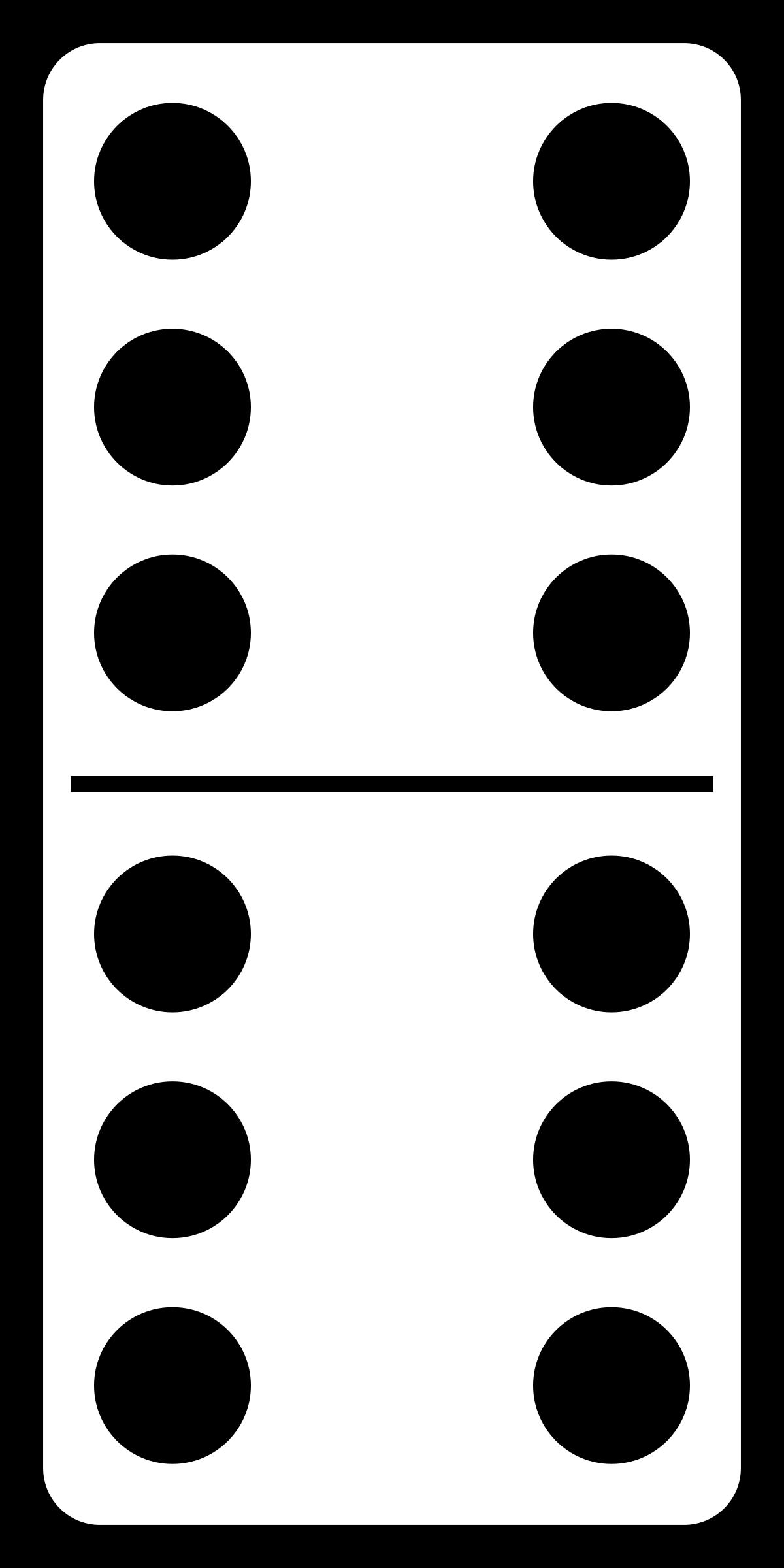 Домино PNG
