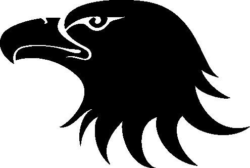 Орелголова силуэт PNG фото