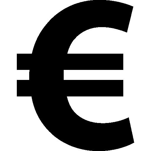 Euro Евро логотип PNG