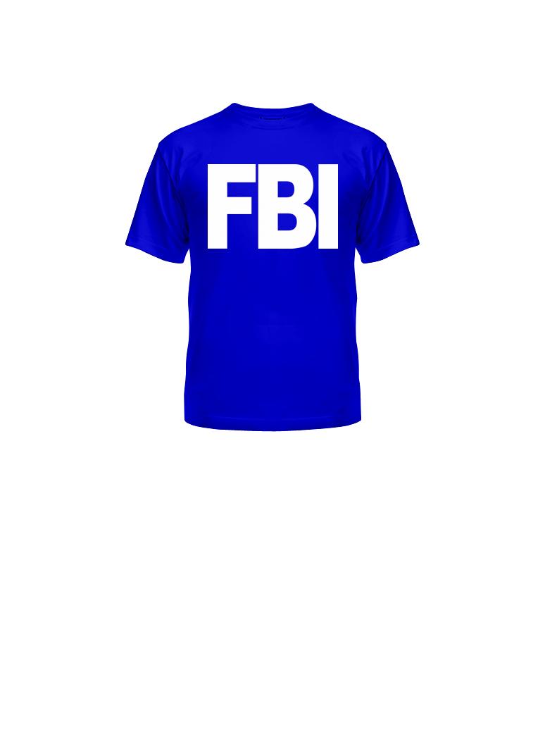 ФБР футболка PNG