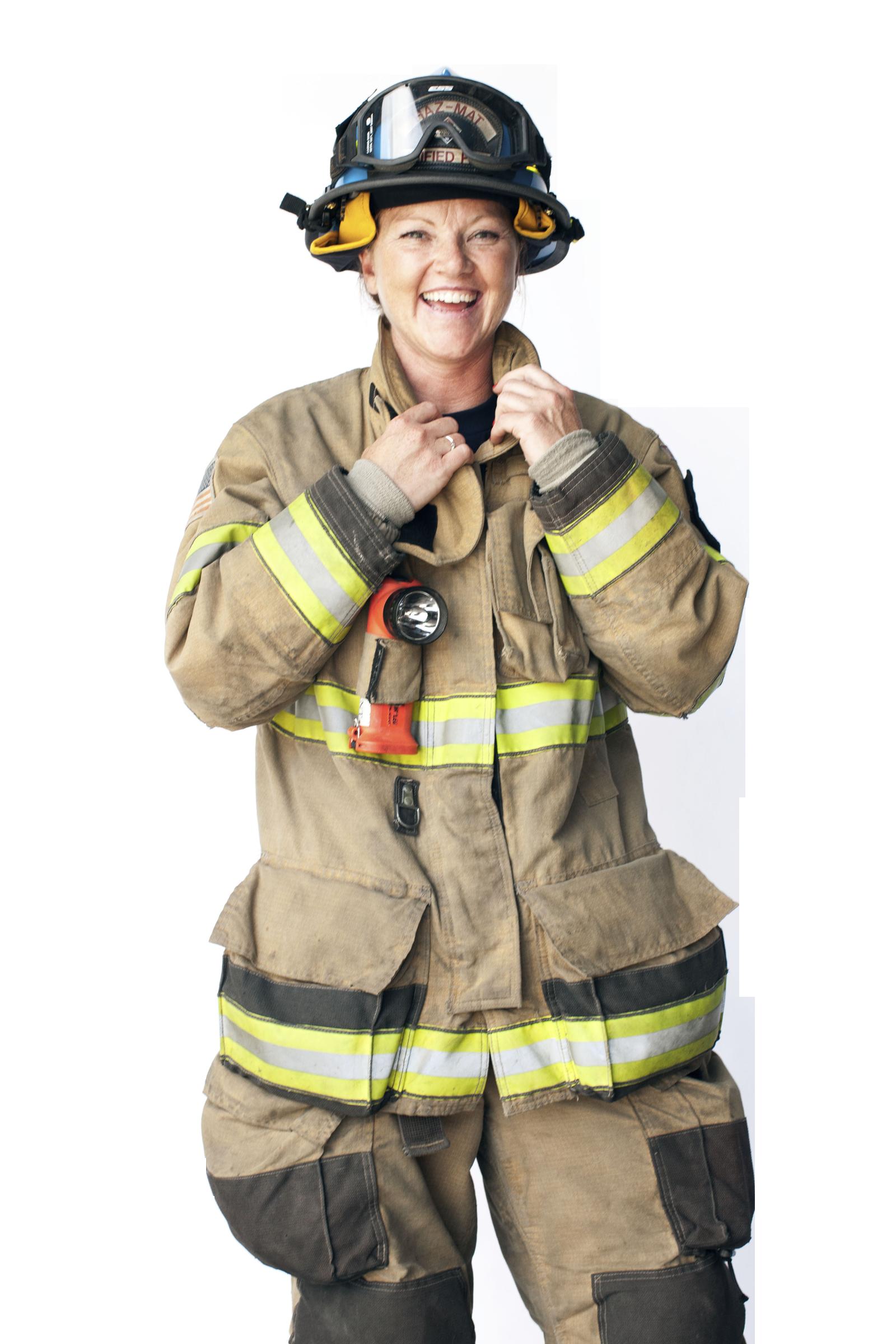 Пожарник PNG