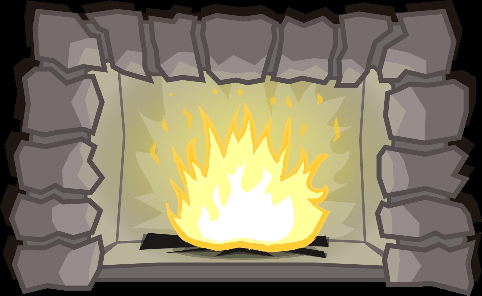 Камин PNG
