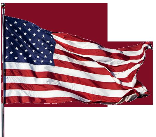 USA flag PNG