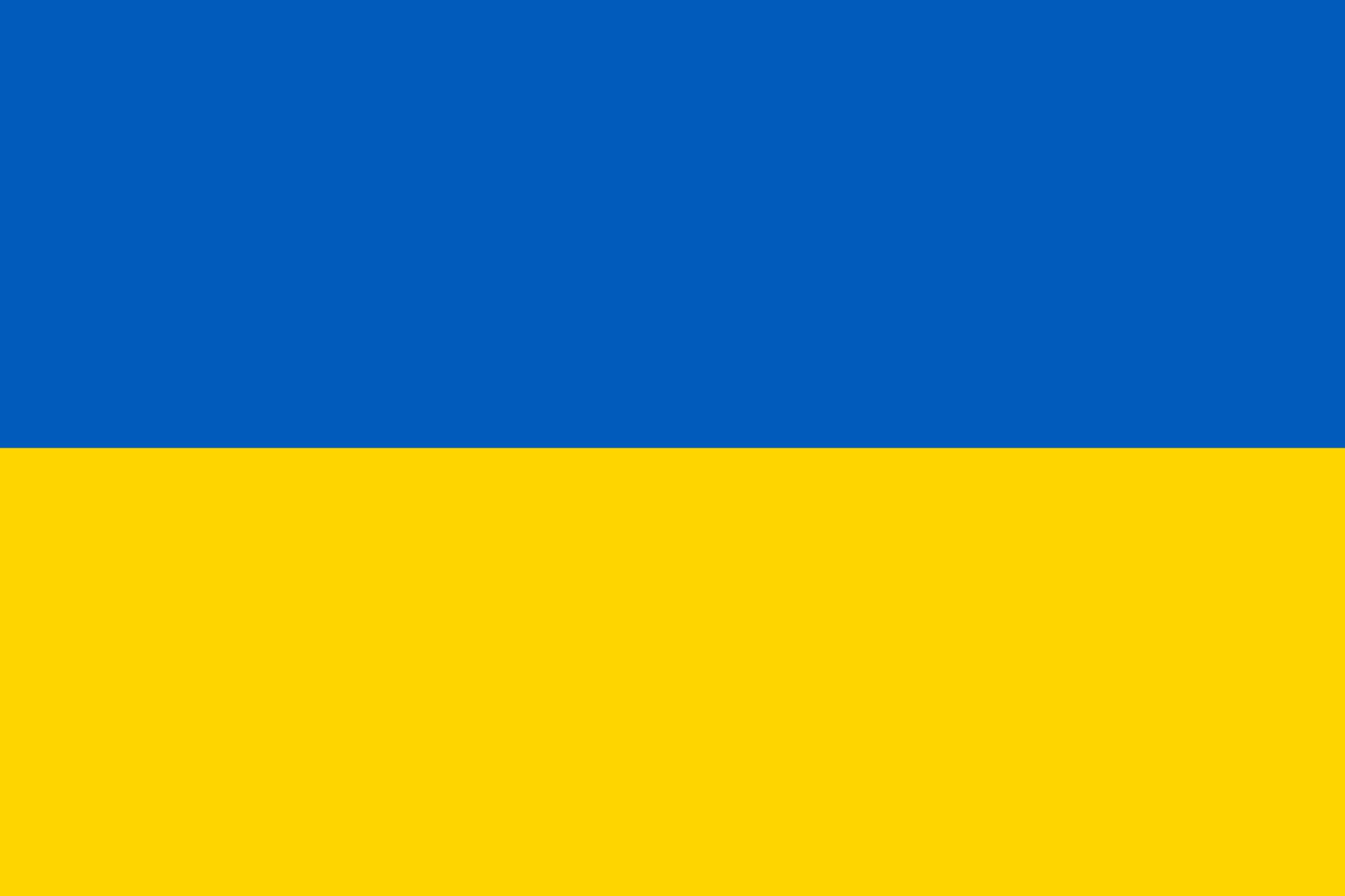 Ukrainian flag PNG