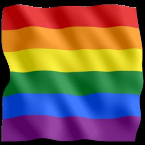 ЛГБТ флаг PNG