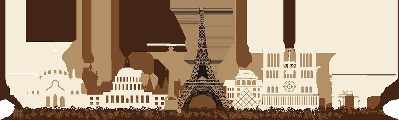 Франция Париж PNG
