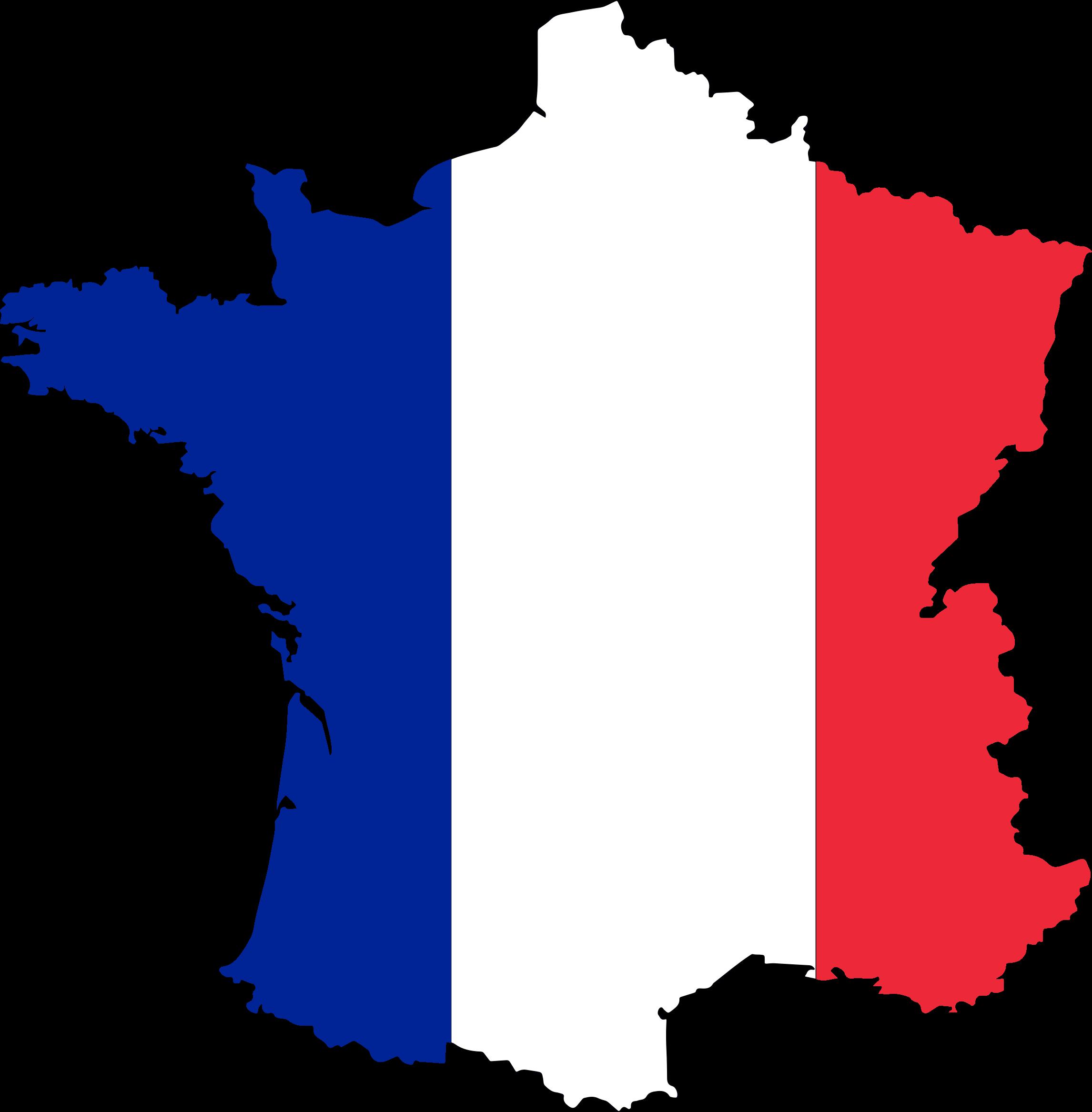 Франция карта PNG