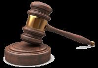 Молоток судьи PNG
