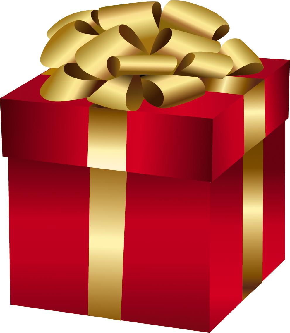 Коробка с подарком в png 237