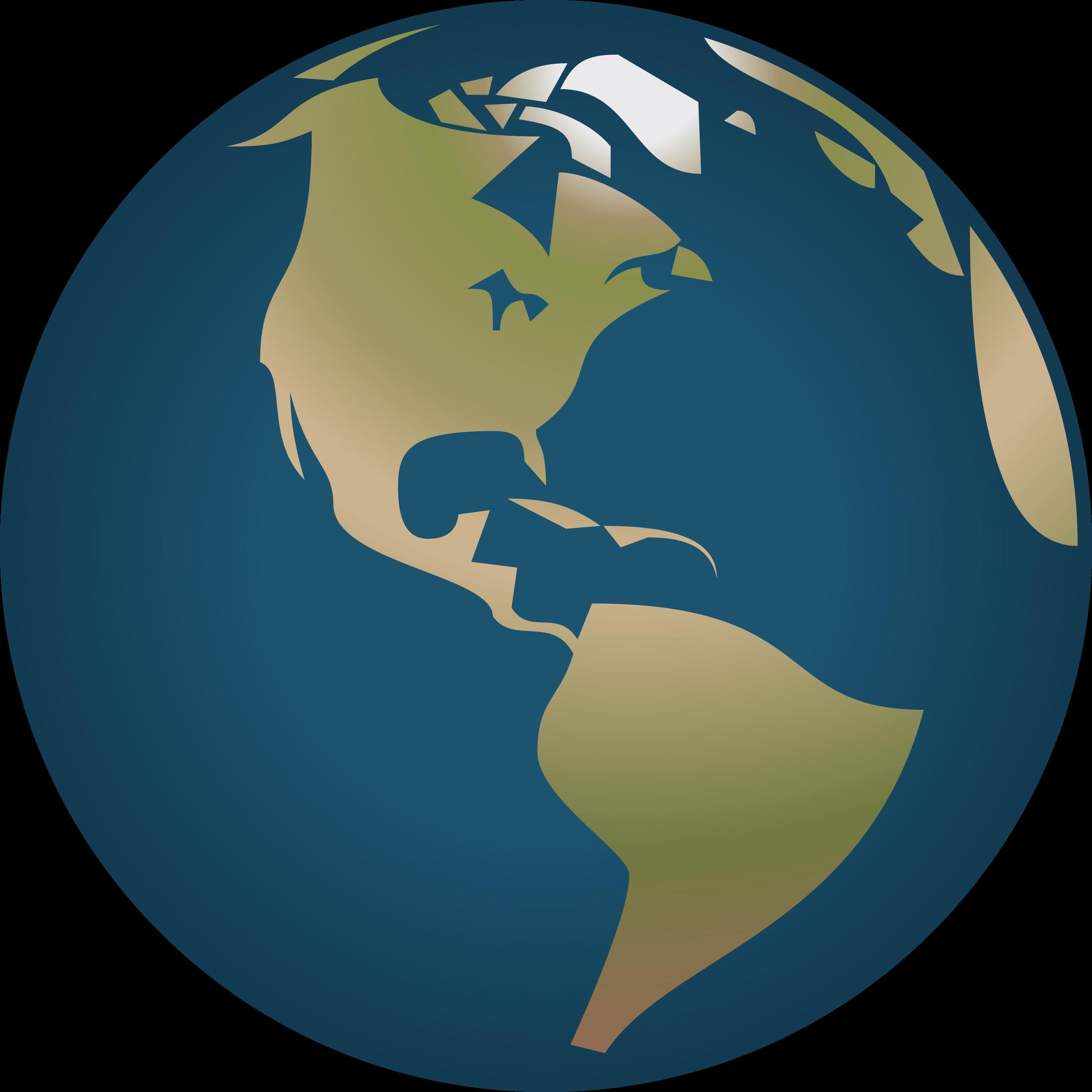 Земной шар PNG