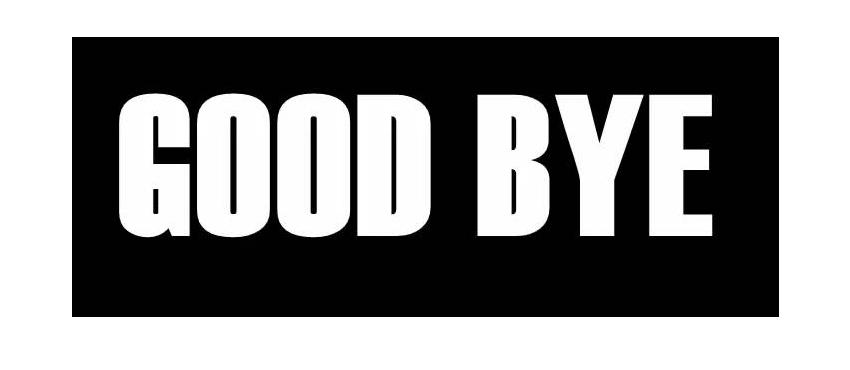 Goodbye PNG image free Download