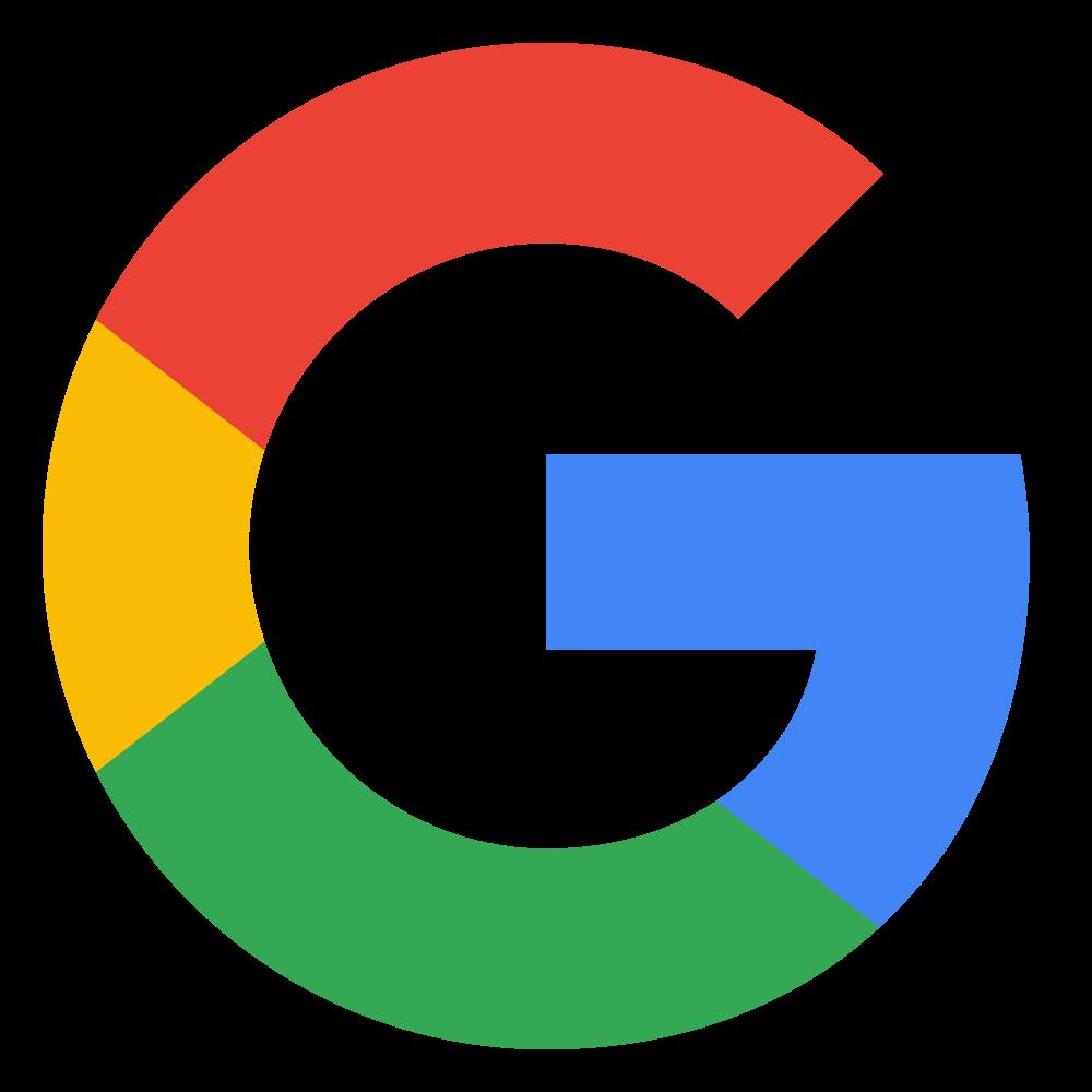 Image result for google logo transparent background