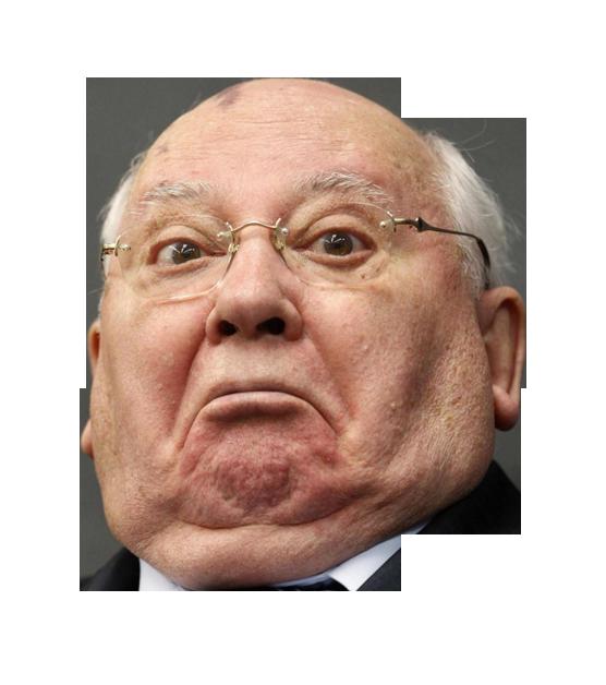 Михаил Горбачев PNG